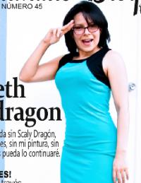 Entrevista a la youtuber Scarleth Mondragon del canal 'Scaly Dragón' – «Revista No. 45»